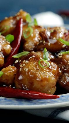 Get that satisfying General Tso's flavor, minus the chicken, by switching out your protein with crispy cauliflower.