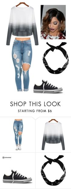 """""""Untitled #404"""" by hello-goodbye-hi ❤ liked on Polyvore featuring moda, Converse, women's clothing, women's fashion, women, female, woman, misses y juniors"""
