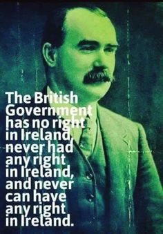 James Connolly was sentenced to death by firing squad for his part in the rising. On 12 May 1916 he was transported by a british military ambulance to Kilmainham Jail, carried to a prison courtyard on a stretcher, tied to a chair and shot. His body (along with those of the other rebels) was put in a mass grave without a coffin.
