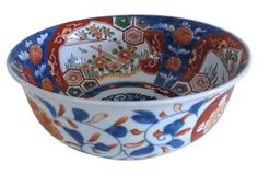 Antique Japanese   Imari Serving Bowl