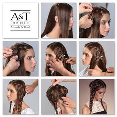 A&T Video Hair Tutorial YouTube – Oktoberfest Styling