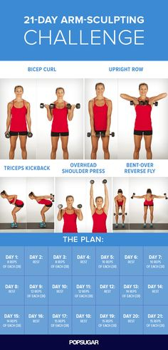 3-Weeks-to-Sculpted-Arms Challenge: Everyone has their own reasons for wanting…