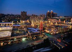 Plaza lights, a beautiful classic view