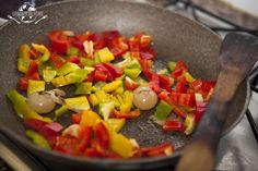 peperoni e cipolle