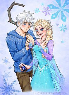 Jack x Elsa her face!!! ~ ~                                         ooooooooyaaaaaaaa.