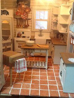 miniature kitchen