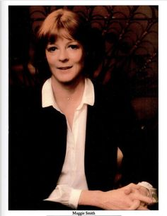 doesntmattr: Maggie Smith photographed by Zoe Dominic. Maggie Smith Young, Movies And Tv Shows, Actors & Actresses, Icons, Lady, Photos, Pictures, Symbols, Ikon