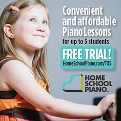 """Free online piano lessons at HomeSchoolPiano.com """"Seriously, this is a keeper. When you compare the price of this to individual lessons, the price can't be beat."""" - Audra """"I found HomeSchoolPiano to be a top-notch piano learning program for children and adults."""" - Patricia """"I am loving HomeSchoolPiano! I love the encouragement to have fun and be creative, and the broad base of skills being taught."""" - Kym http://homeschoolpiano.jazzedge.com/tos/ #TOSMag #homeschool"""
