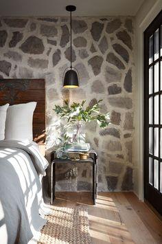 rough luxe bedroom