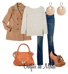 Estilo Casual Urbano by outfits-de-moda2 on Polyvore featuring moda, Band of Outsiders, Isabella Oliver, True Religion, Restricted, Chloé and Daniela Swaebe