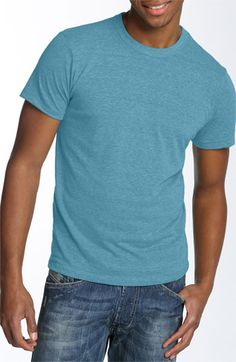Alternative Heathered Trim Fit Crewneck T-Shirt available at #Nordstrom