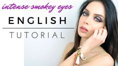 INTENSE SMOKEY EYES|BLACK & BRIGHT | ENGLISH TUTORIAL