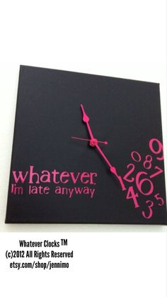 A clock for my life story