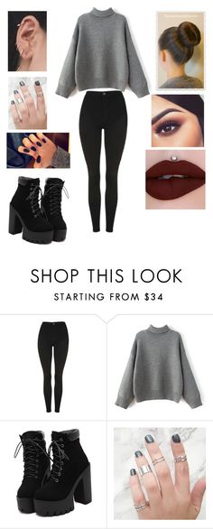 """Untitled #3248"" by vanessa898 ❤ liked on Polyvore featuring Topshop"