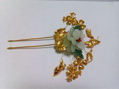 jade kanzashi   kanzashi accesorios para el cabello-Bandas Pelo-Identificación del ...