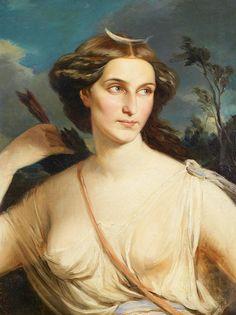 Diana, Goddess of the Hunt, 1900.