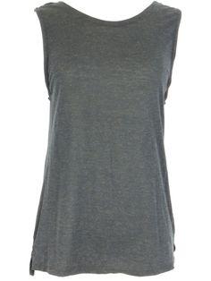 895855ed9 DAVID LERNER Women Black Sleeveless Sheer Tank Top Shirt Size M