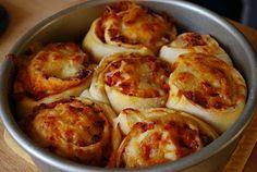 Pizza Rolls. Like cinnamon rolls, but pizza.