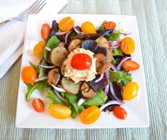 Power Veggie Lunch Salad • Great Food and Lifestyle