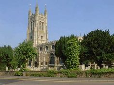 St Mary's, St Neots...where Jonathan got married!!