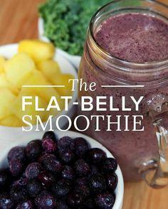 Body Goals  #Health #Body #Love #Smoothie #Motivation #Weightloss #Women #Inspiration #Pineapple #Blueberries #Kale