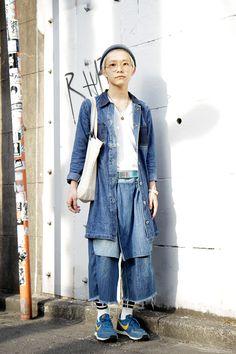 【STREET SNAP】桑室 俊佑   美容師   ストリートスナップ   原宿(東京) 