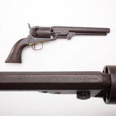 Colt Navy Revolver Mystery: Part II- While the cylinder serial is 74083, the rest of the gun is 73232. Soldiers cleaning or re-assemblying their handguns together might inadvertently swap the cylinders from one gun to another. So that cylinder's SN we can track exactly to the 10th Illinois Cavalry in 1863. Chances are much better that this revolver did serve in the cavalry. We may never know exactly what regiment it served with, but this Colt likely rode through the Civil War on horseback.
