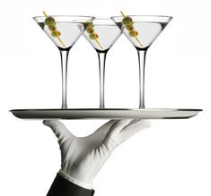 Perfect gin martini!  2 oz's Bombay Gin, 1/2 oz of Dry vermouth.  Shake with ice & pour into a chilled martini glass.  Add 3 olives!