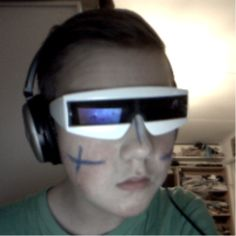 A quick picture of me today, FINNISH INDEPENDENCE DAY!!! #finland #awesome #2013