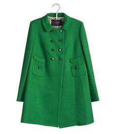 Gorgeous Tara Jarmon pea coat. Makes me wish it were colder around these parts so I could wear something like this to keep stylish and toasty hehe