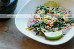 SPICY WATER SPINACH SALAD / LOMBOK PLECING KANGKUNG