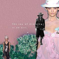 La alegría de vestir es un arte -John Galliano #ELLEquotes via ELLE MEXICO MAGAZINE OFFICIAL INSTAGRAM - Fashion Campaigns  Haute Couture  Advertising  Editorial Photography  Magazine Cover Designs  Supermodels  Runway Models