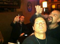 Aaron Goodwin, Nick Groff, Zak Bagans  Messin with the Zak Fin
