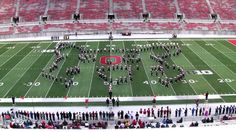 Ohio State University Marching Band - VIDEO GAMES New - Buckeye Band Inv...