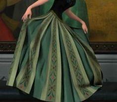 anna coronation skirt detail   skirt details
