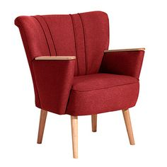Cocktail-Chair Lia Red, £201.70, now featured on Fab.
