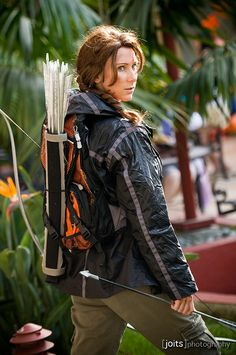 katniss everdeen @ anime los angeles 2013 by Joits, via Flickr