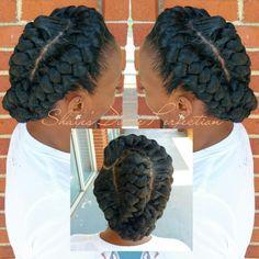 56 Dope Box Braids Hairstyles to Try - Hairstyles Trends Box Braids Hairstyles, Twist Hairstyles, African Hairstyles, Quick Braided Hairstyles, Hairstyle Braid, Braided Updo, Wedding Hairstyles, Protective Hairstyles For Natural Hair, Natural Hair Braids