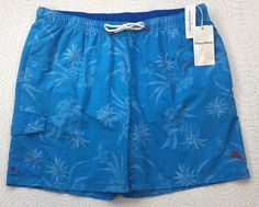 dc6ffa3083 Men's TOMMY BAHAMA Naples Huli Pineapple Blue Swim Trunks XL X-Large $75 New  #fashion #clothing #shoes #accessories #mensclothing #swimwear (ebay link)