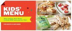 Applebee's Debuts New, Healthier Kids' Menu Kids Menu, Menu Items, Menu Restaurant, New Kids, Healthy Kids, Food, Healthy Children, Essen, Meals