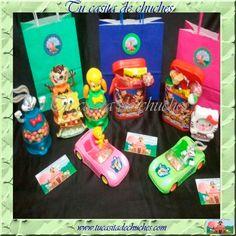 juguetes con caramelos, disponemos de gran variedad: huchas, cajas, coches, motos, dispensadores caramelos y de tu personaje favorito! consúltanos!