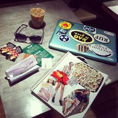 #work #coffee #fashion #dream Management, Coffee, Instagram, Fashion, Kaffee, Moda, Fashion Styles, Cup Of Coffee, Fashion Illustrations