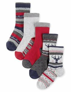 5 Pairs of Autograph Fair Isle Socks - Marks & Spencer