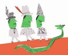 3 guys and a snake