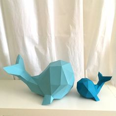 Whale 3d papercraft. With this purchase you get PDF by sofsdesigns