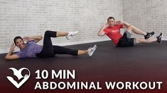 10 Minute Abdominal Workout - HASfit - Free Full Length Workout Videos and Fitness Programs intensives Six-Pack-Training ohne Trainingsgeräte - HASfit - Kostenlose Workout-Videos und Fitn 20 Minute Ab Workout, Intense Ab Workout, Easy Ab Workout, Six Pack Abs Workout, Abs And Obliques Workout, Oblique Workout, Standing Ab Exercises, Standing Abs, Effective Ab Workouts