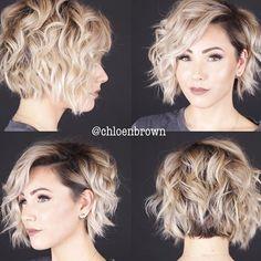 Short Hair Undercut, Curly Hair With Bangs, Wavy Hair, 4b Hair, Medium Undercut, Long Hair, Medium Hair Cuts, Short Hair Cuts, Medium Hair Styles