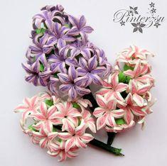 #quilling #handmade #paperflowers #paperart #quilledflowers #hyacints #jácintok #quillingvirágok #papírvirágok #pinterzsu
