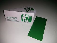 Business Card by Nancy Skerletidou, via Behance