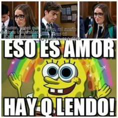 Awww!!  Los amo!! ☺ P.D: Eso no es EXACTAMENTE lo que dice pero casi!! - L #soyluna #soylunamemes